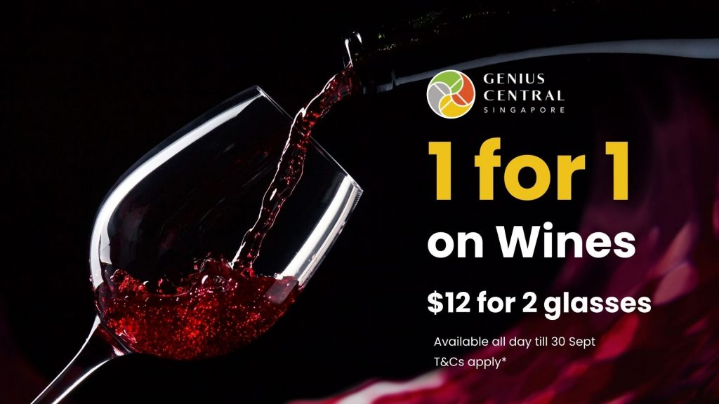 1-for-1 Wines All-day