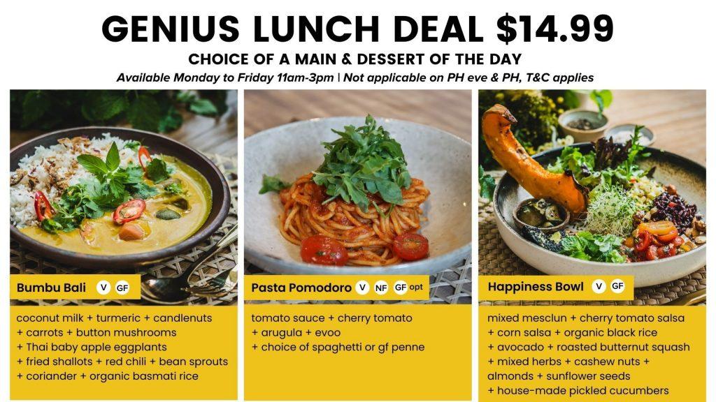 Genius Lunch Deal